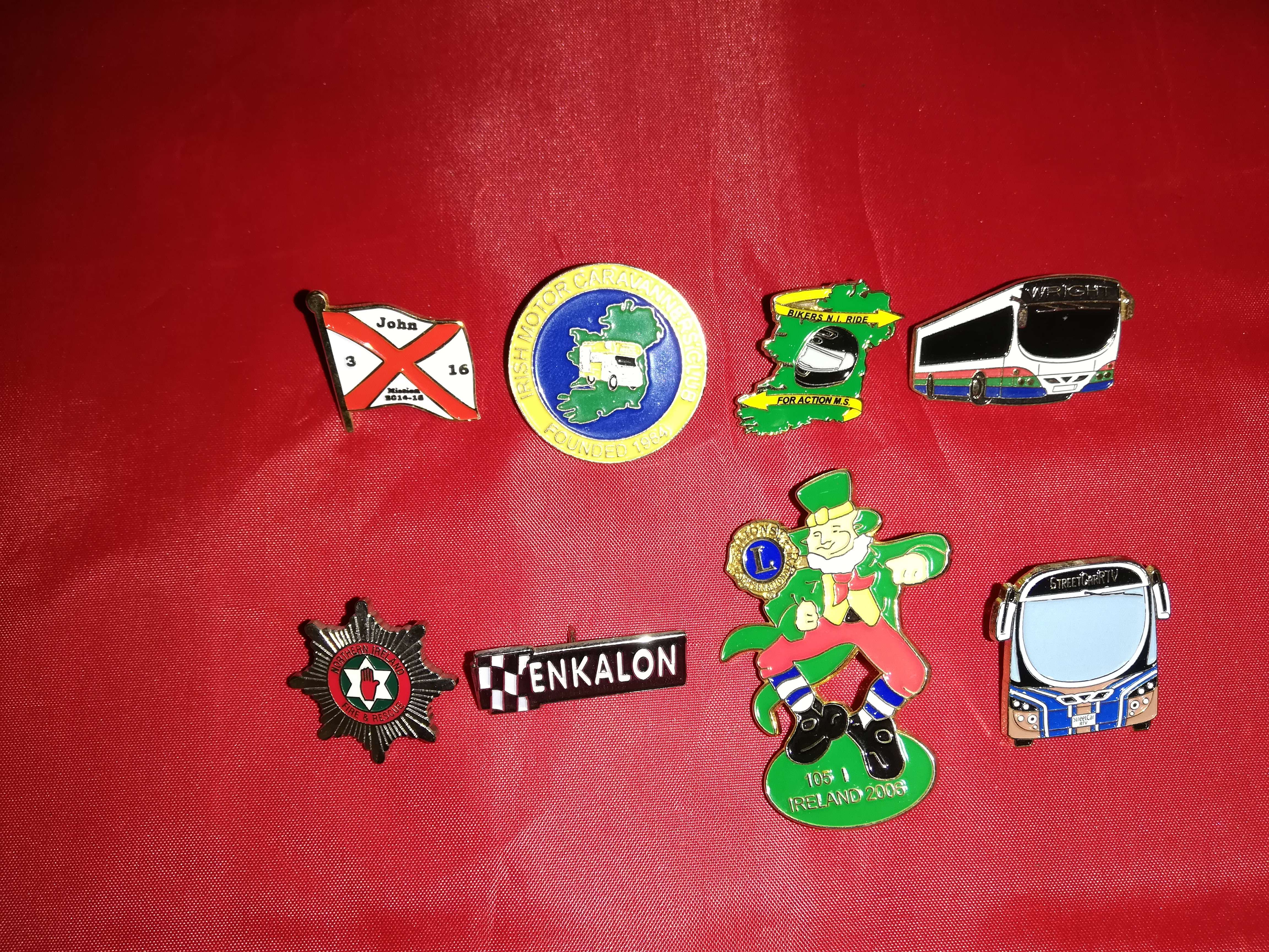 Lapel Badges - Tandragee Northern Ireland