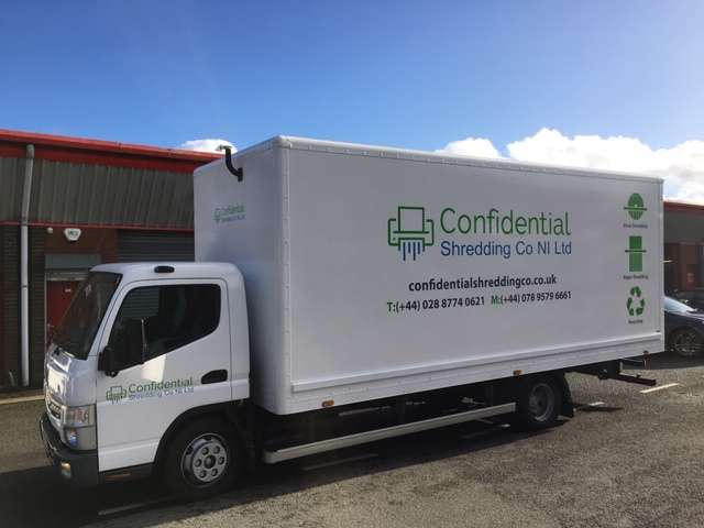 Secure document shredding Co. Down Northern Ireland