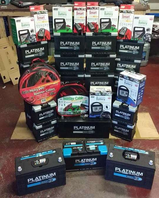Car Batteries, Jump Leads, Booster Packs, Chargers In Ballymena Northern Ireland